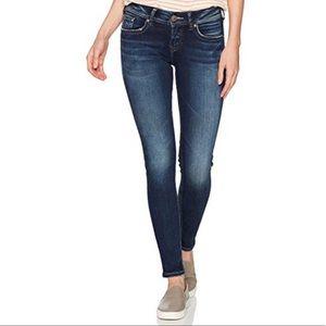 Silver Suki Mid Skinny Jean